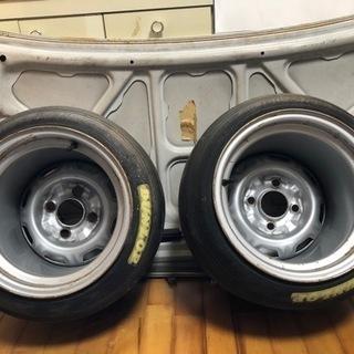 【ネット決済】鉄チン加工 10J 12J  CR88  旧車