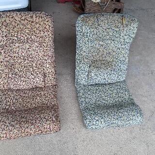 座椅子(2脚)差し上げます