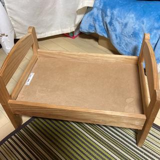 【ネット決済】IKEA DUKTIG ドゥクティグ 人形用ベッド...