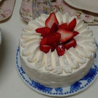 クリスマスケーキに