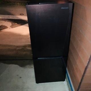 ハイセンス 【右開き】154L 2ドア ノンフロン冷蔵庫 …