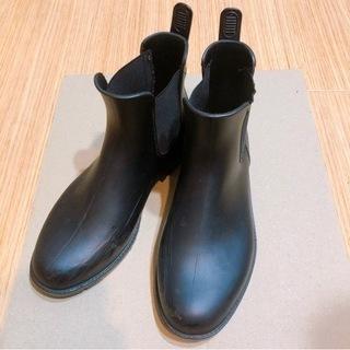 wpc★レインブーツ Mサイズ ブラック