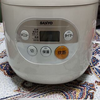 マイコンジャーSANYO炊飯器ECJ-YM18