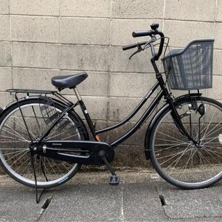 【整備済自転車】26インチ変速なし ブラック リヤチューブ…