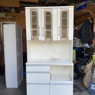 キッチンボード 食器棚 ホワイト