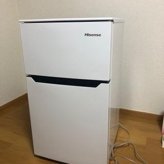【ネット決済】冷蔵庫 Hisense HR-B95A 2ドア冷凍冷蔵庫