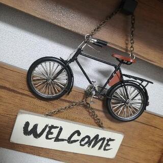 ウェルカムボード 自転車