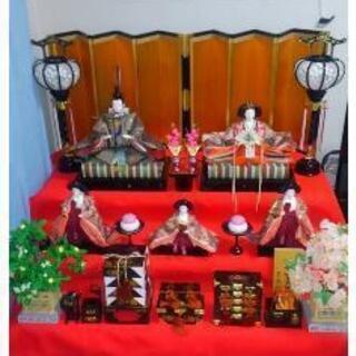 ★☆ひな壇三段飾り 旭川市近郊の方歓迎!☆★