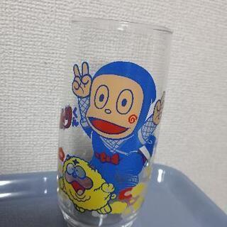 ハットリくんグラス