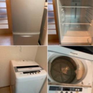 冷蔵庫・洗濯機・ベッド・テーブル・ソファのセット
