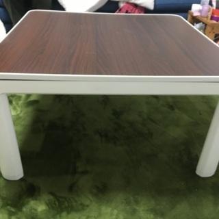 ニトリ コタツテーブル 75センチ×75センチ