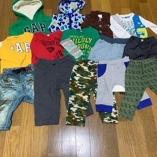 男の子 サイズ80秋冬服 サイズ90夏服