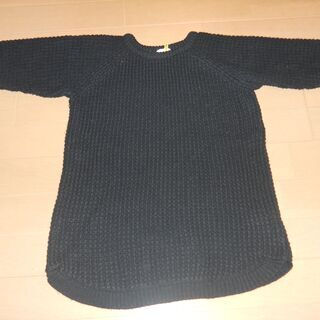 GU ジーユー 紺色セーター Lサイズ ※毛玉有 【値下げ!】