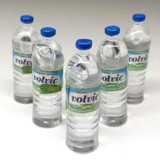 【ネット決済】現金取引可★ミニチュア水ボトル★ドールハウス用