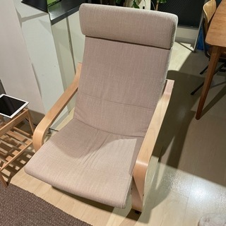 IKEA 1人用ソファーPOANG