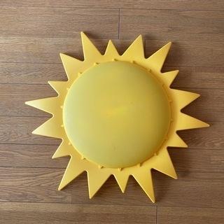 【無料】IKEA SMILASOL  太陽 天井照明 子ども部屋...