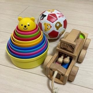 赤ちゃん向けおもちゃセット