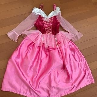 中古 オーロラ姫のドレス ハロウィンに