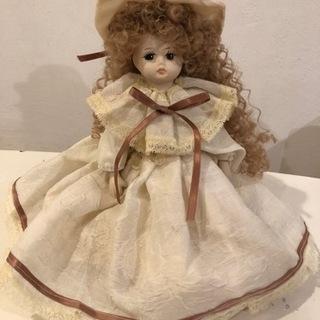 イタリア カポディモンテ人形 顔、手、足が陶器です