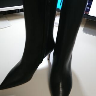【ヴェロキーオ】ブラック・ショートブーツ サイズ35 ※未…