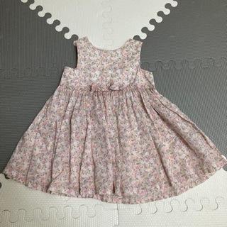 H&M baby 女の子 花柄ワンピース 4-6month