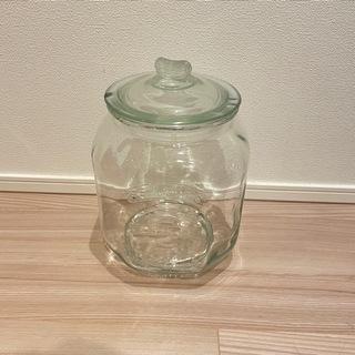 【あげます】米びつ 5kg ガラス 密閉容器
