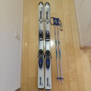 ジュニア用 スキー板 ストック
