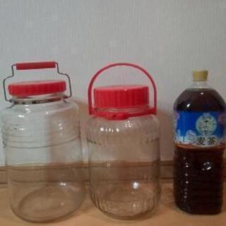 【ネット決済】空き瓶2つ 梅酒作りなどに…★