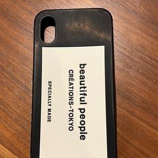 beautifulpeople iPhoneX/XSケース ブラック