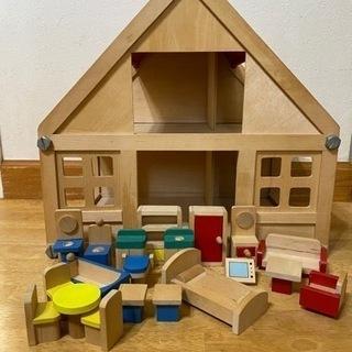 ドールハウス 家具付きおもちゃ