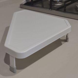 Yamazaki キッチンのコーナーラック