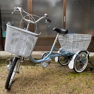 【ネット決済】ブリヂストンの三輪自転車(美品)