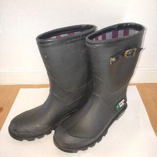【LOGOS DAYS】子供用長靴 23.0cm