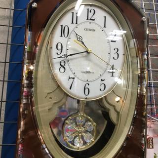 CITIZEN 電波時計 からくり時計 中古品