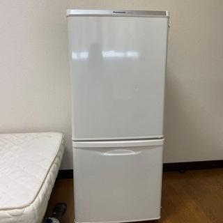 Panasonic NR B145W 2ドア冷蔵庫