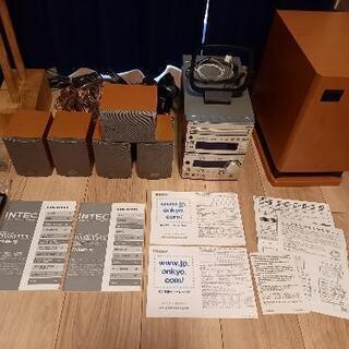【お値下げ】ONKYO INTEC 5.1chホームシアターシス...