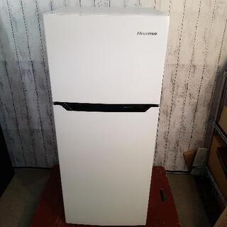 ハイセンス2ドア 冷凍冷蔵庫 120L HR-B1201 201...