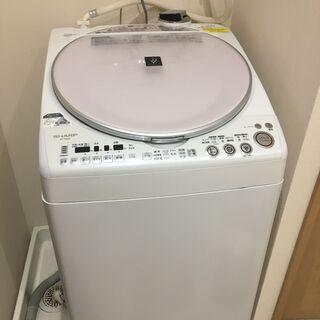 【ネット決済】シャープ ES-TX800 洗濯機 乾燥機能付き ...