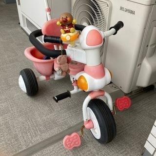 【ネット決済】三輪車 アンパンマン 子供・幼児
