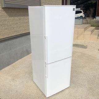 2014年製 シャープ ノンフロン冷凍冷蔵庫「AQR-D2…