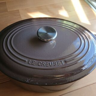 LE CREUSET ル・クルーゼ  両手鍋 オーバル 27cm 中古