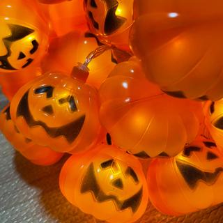 【6m40LED】ハロウィン かぼちゃ キャンプ テント …