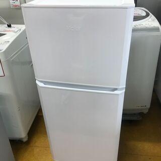 ハイアール 121L 2ドア冷凍冷蔵庫 ホワイト JR-N121...