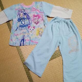 プリキュア トレーナー生地のパジャマ 110サイズ