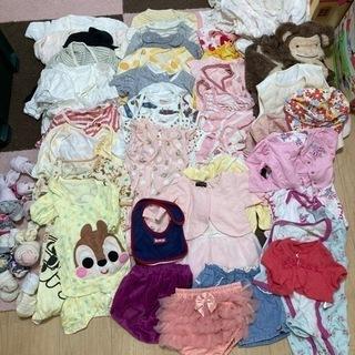 女の子用ベビー服50〜70詰め合わせ