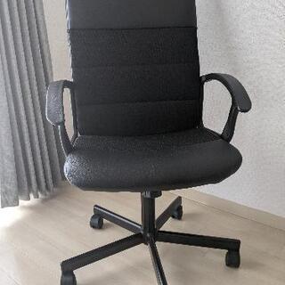 IKEA オフィスチェア パソコン用の椅子 ハイバックチェア