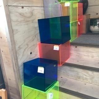 カラー アクリル ボックス