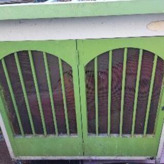 中古  犬小屋  畑の倉庫