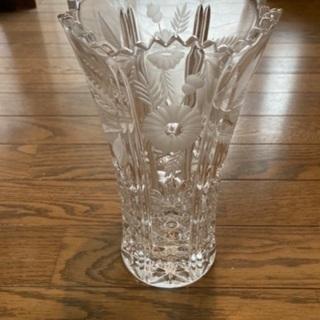 花瓶 ガラス製 高さ20cm