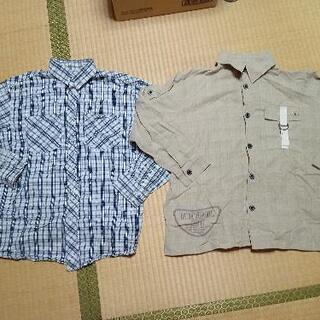 男の子 カッターシャツ150サイズ